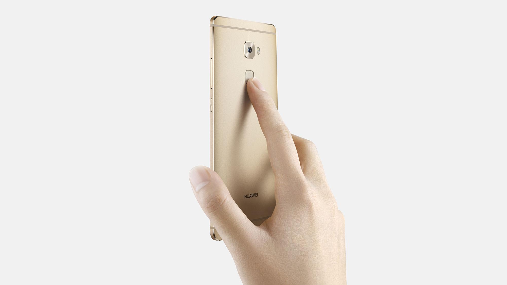 Huawei Mate S huella dactilar