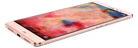 Huawei Mate S en color rosa