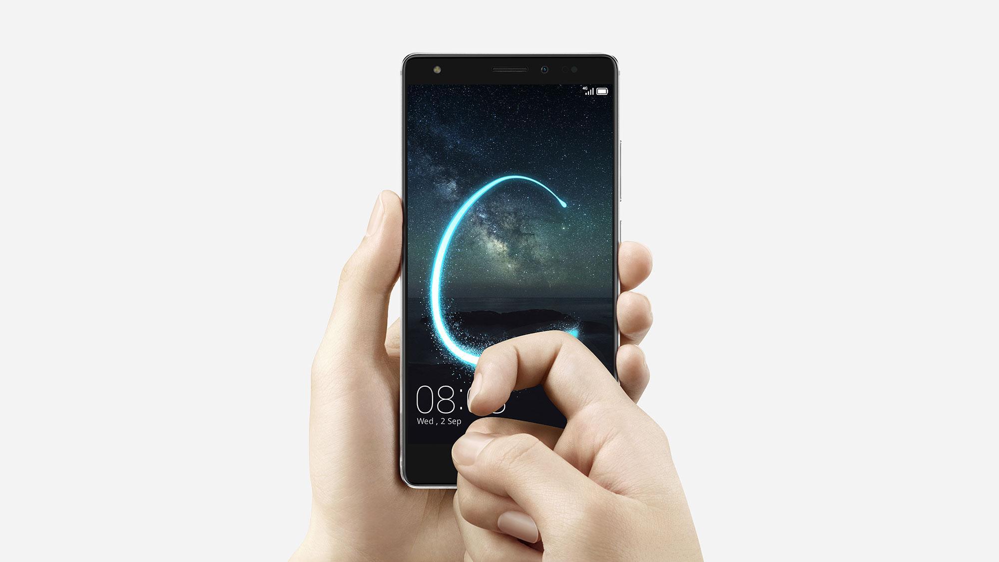 Huawei Mate S sistema de desbloqueo de pantalla