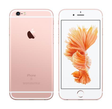 iPhone 6s en color rosa