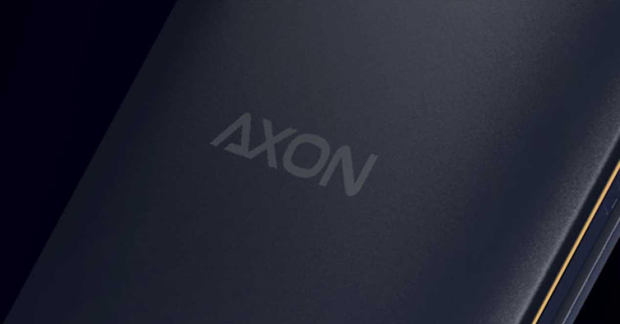 Logotipo ZTE Axon