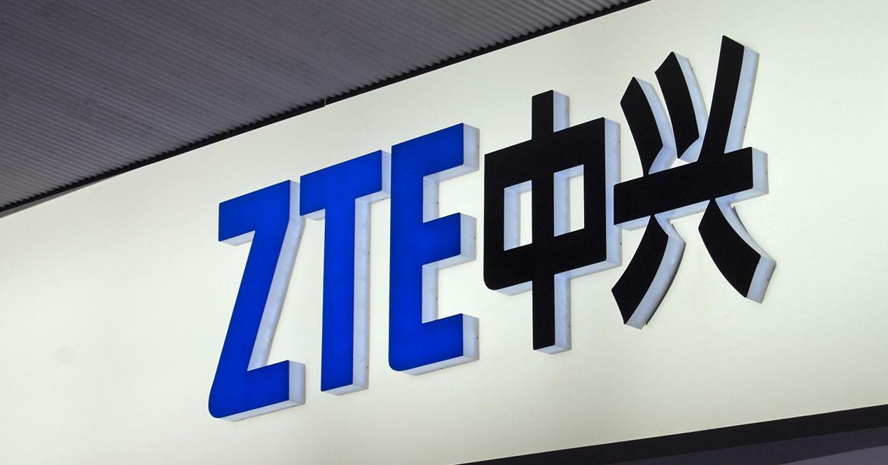 Logotipo de la compañías ZTE
