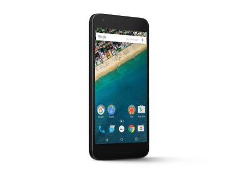 Nexus 5x en color negro