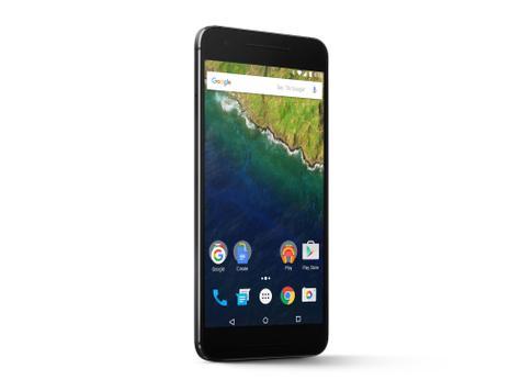 Nexus 6P vista frontal
