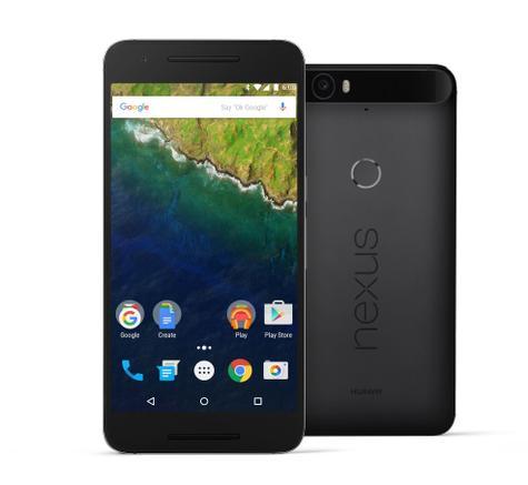 Nexus 6P en color negro