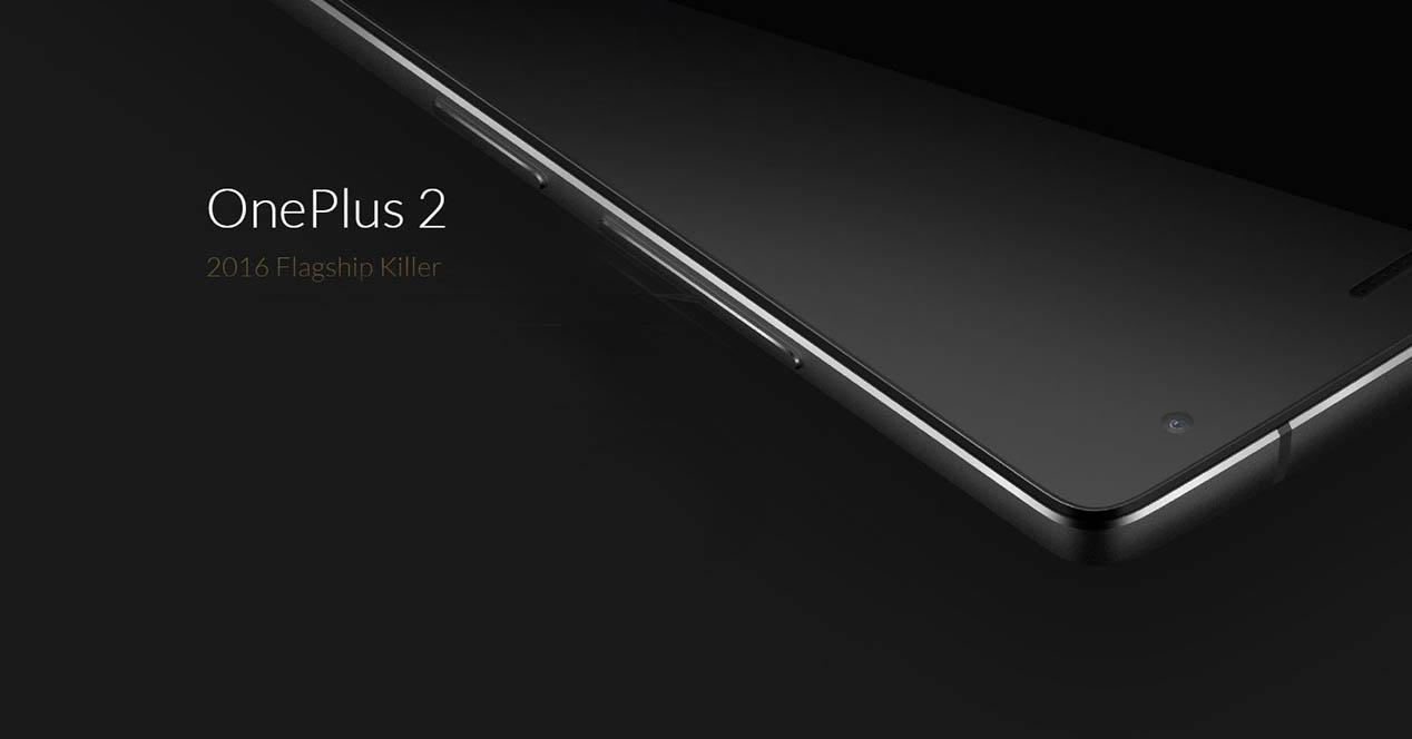 Oneplus 2 portada negro