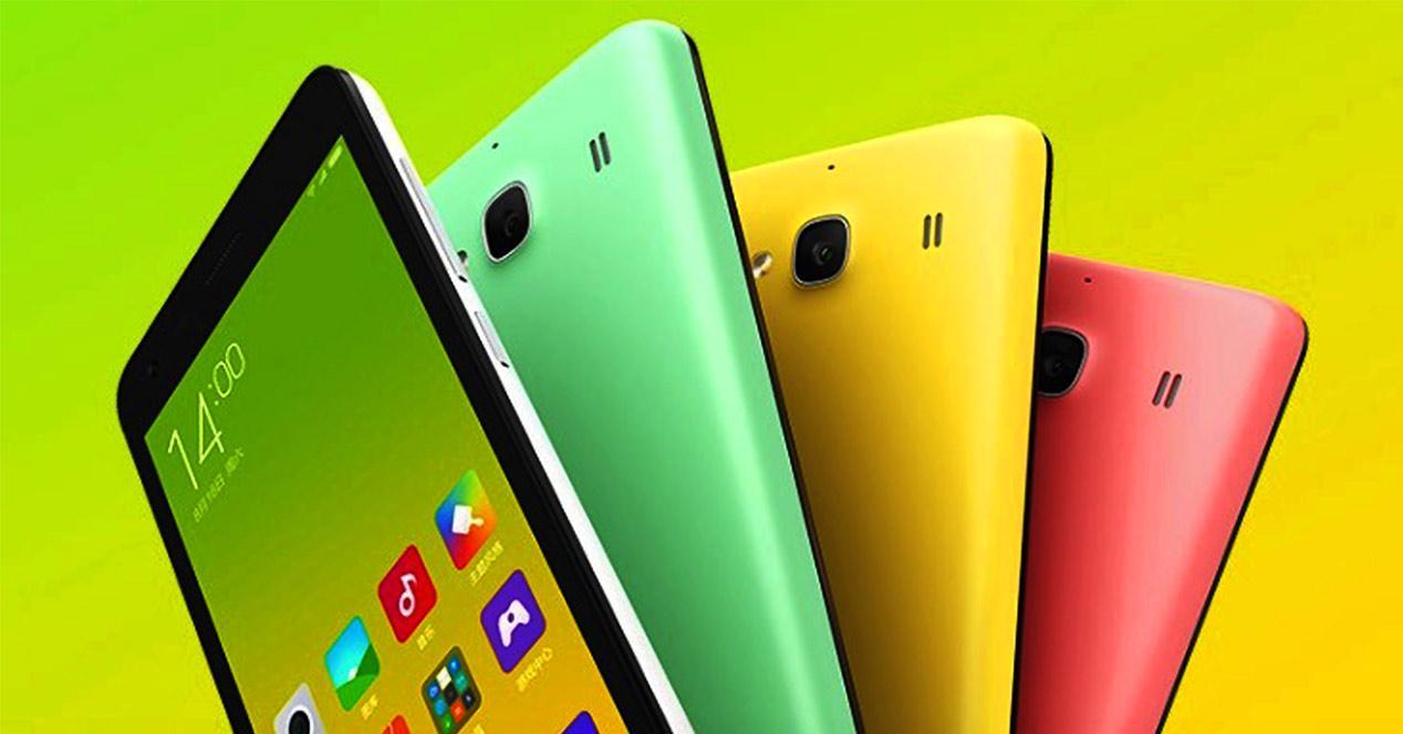 Carcasa de colores del Xiaomi Redmi 2A