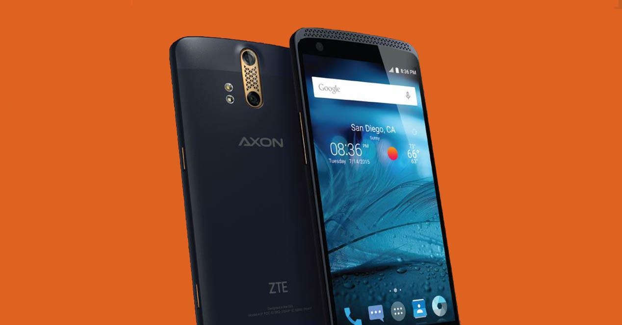 ZTE Axon portada