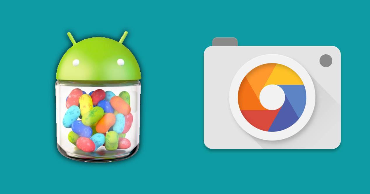 Camara Google Jellybean