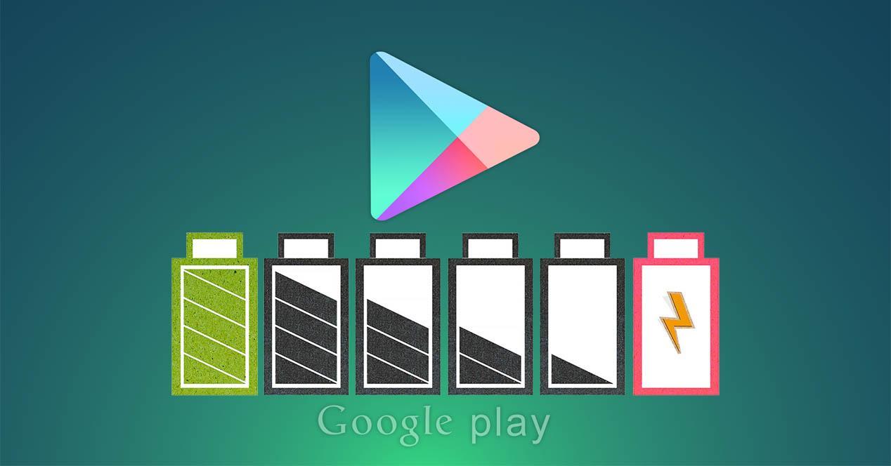 google play bateria