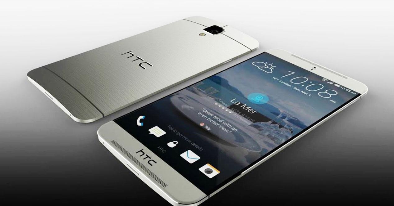 HTC aero concepto