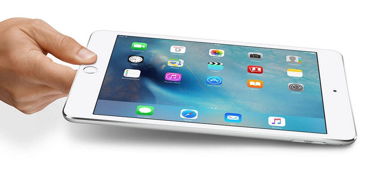 Presentacion del iPad Mini 4