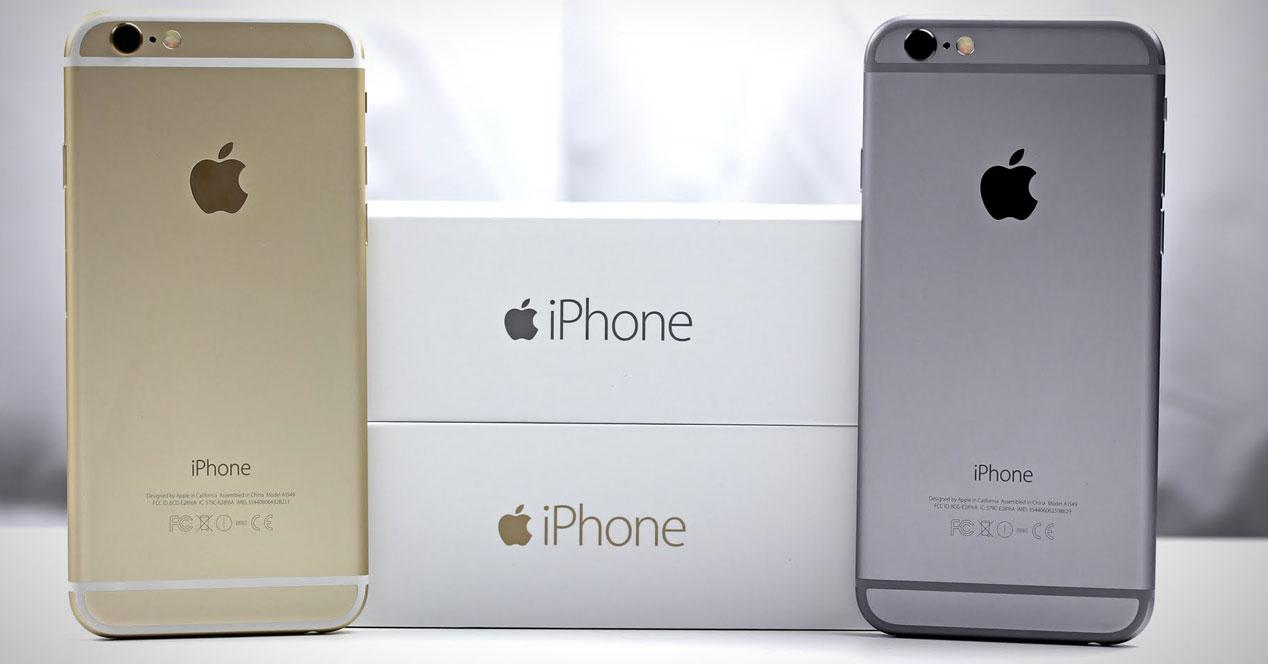 iPhone 6 cajas
