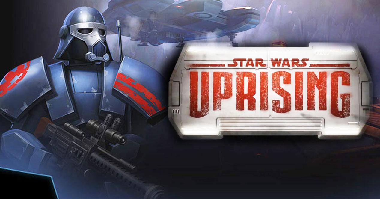 Star Wars Uprising nuevo villano y logo