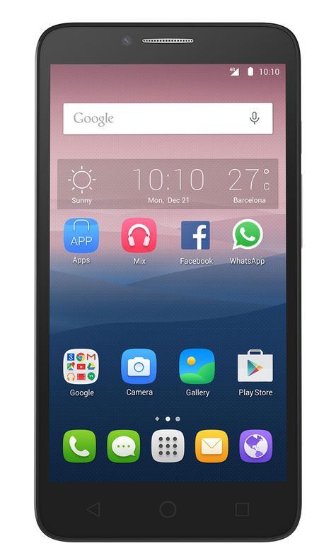 Alcatel Onetouch Pop 3 4G de 5.5 pulgadas en color negro