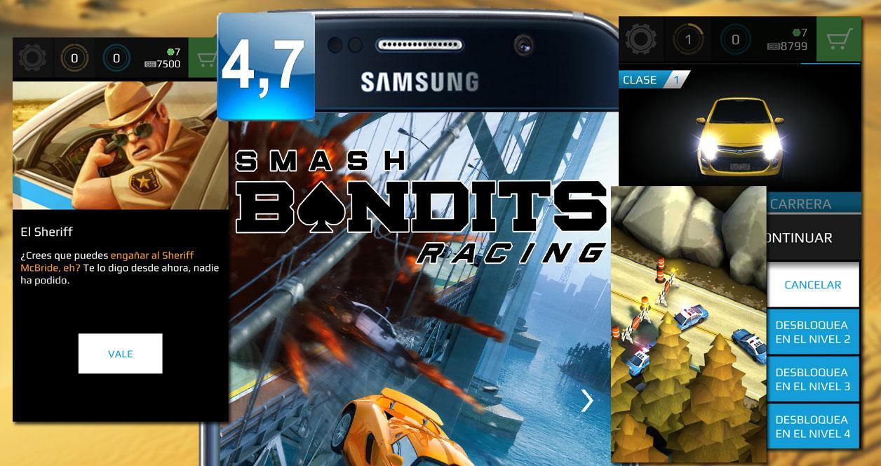 Juego Android Smash Bandits