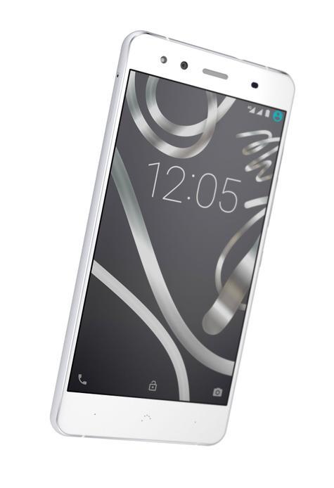 Aquaris X5 en color blanco
