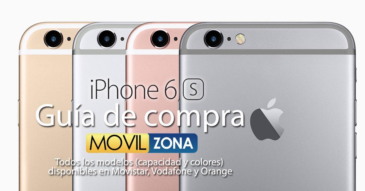 todos los modelos del iPhone 6s