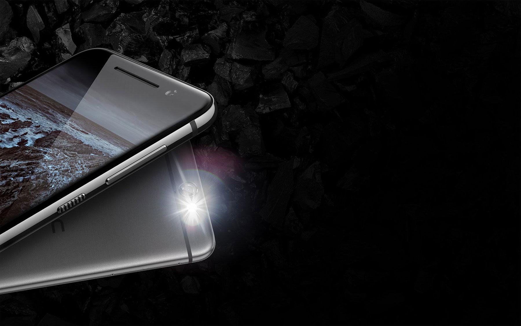 HTC One A9 detalle del flash
