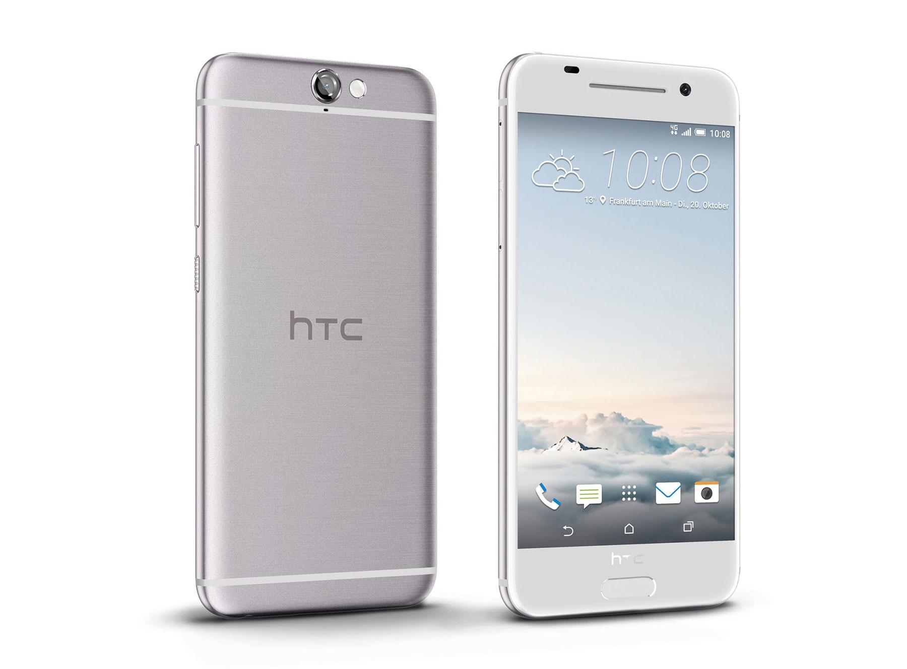HTC ONE A9 en color blanco