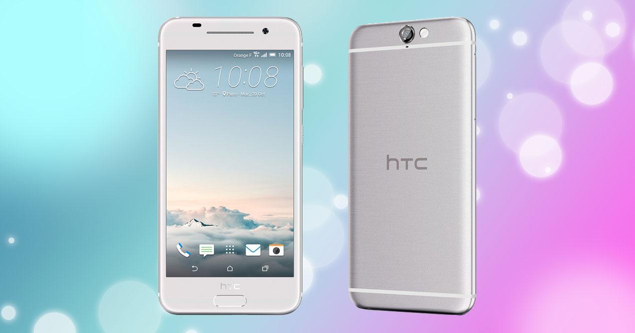 HTC One A9 plateado