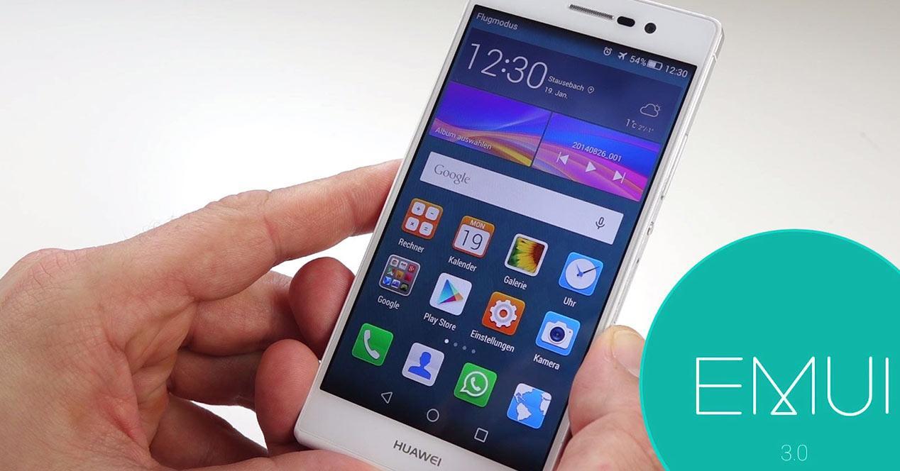 Actualizaciones Huawei