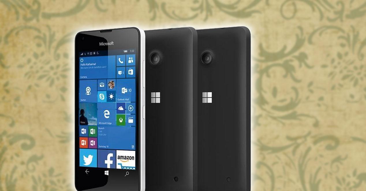 Imaegn del nuevo Microsoft Lumia 550
