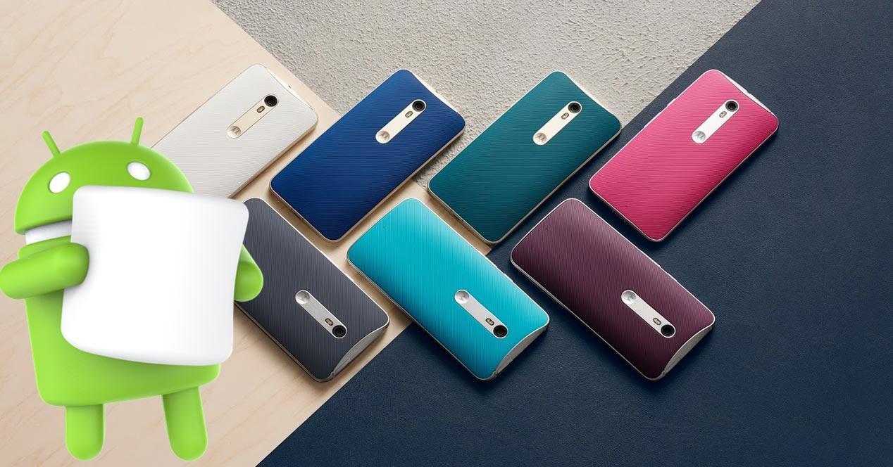 Modelos Motorola compatibles con Android 6.0