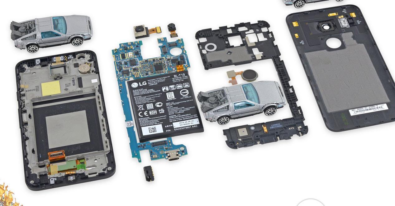 Desmontaje del Nexus 5X