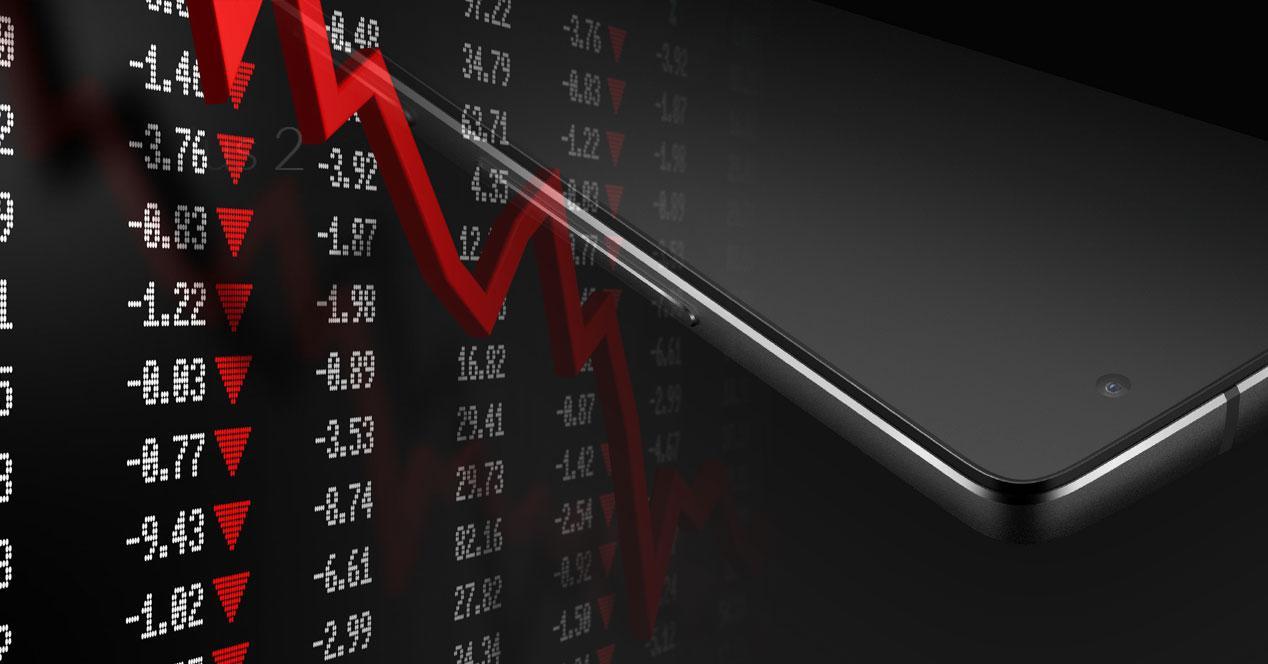 OnePlus 2 con gráfico