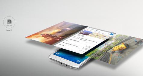Samsung Galaxy j5 pantallas