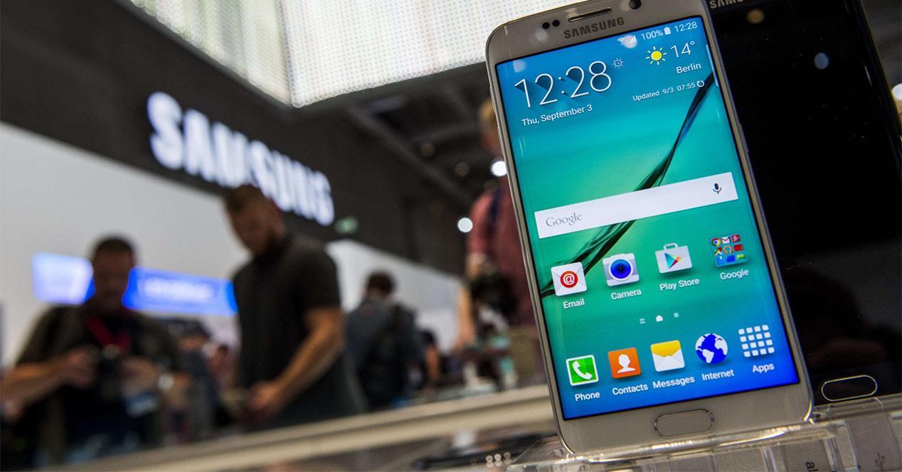 Pantalla del Samsung Galaxy S6 Edge