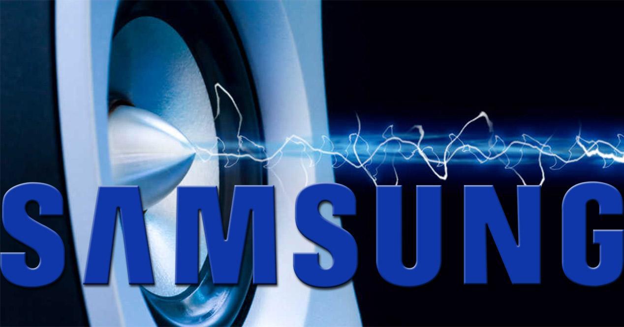 Sonido en smartphone Samsung