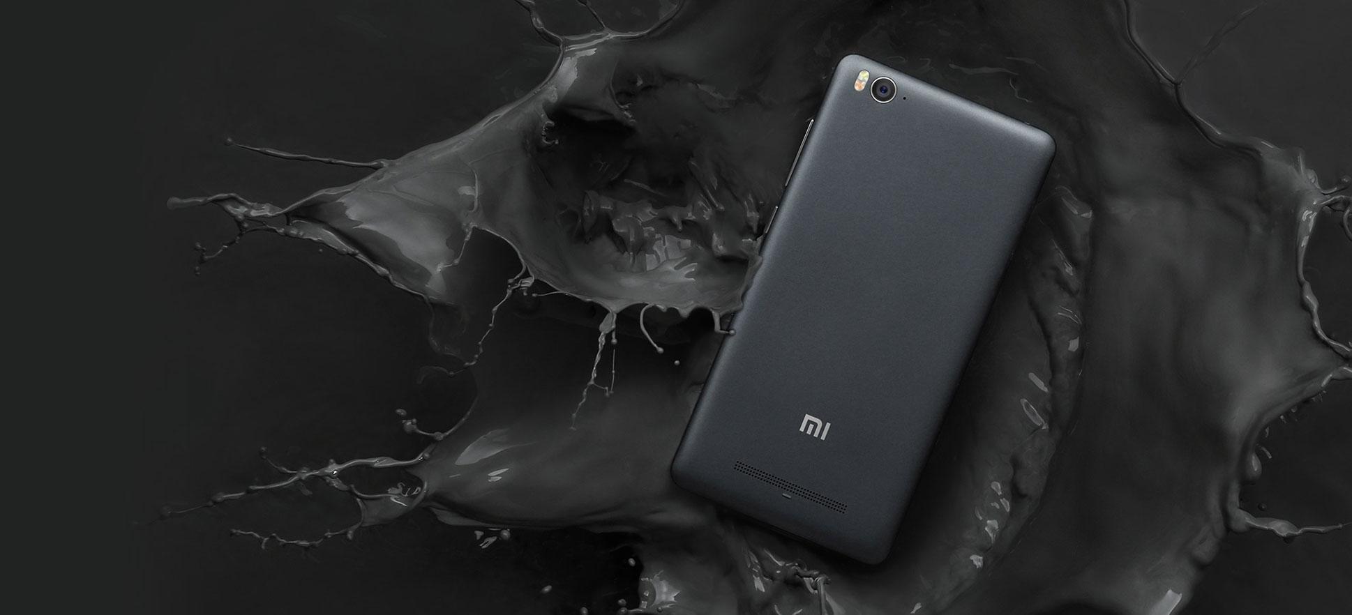 Xiaomi M4iC negro vista trasera