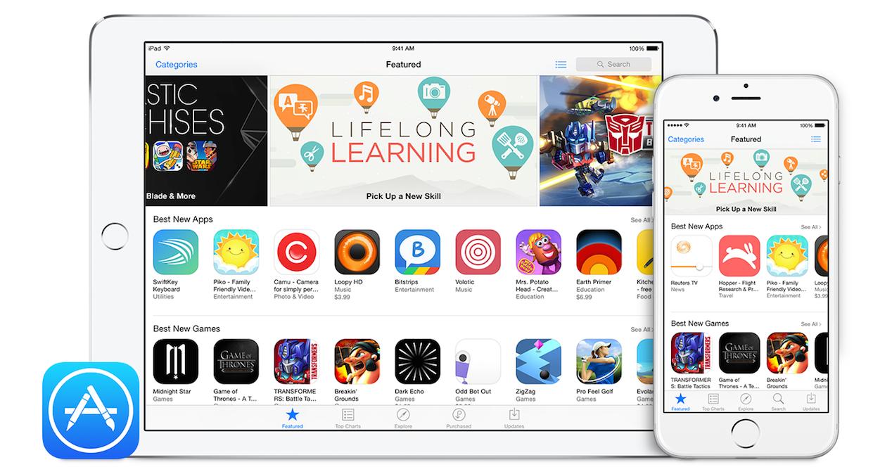 App Store para iOS