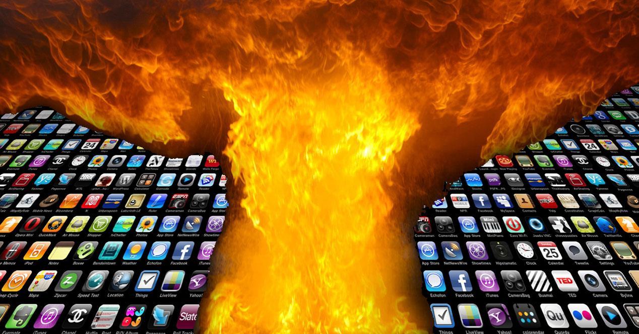 apps con llamas