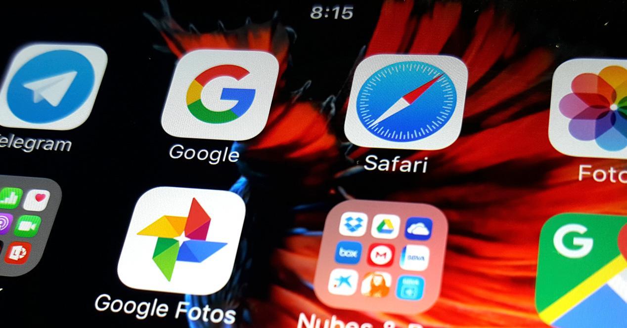 Búsquedas de Google en Safari y apps iOS