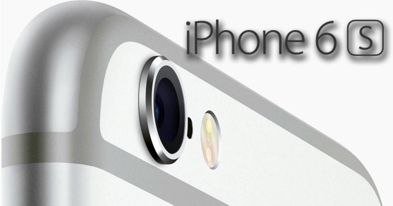 Camara del iPhone 6s
