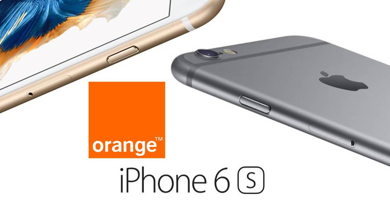 iPhone 6s orange