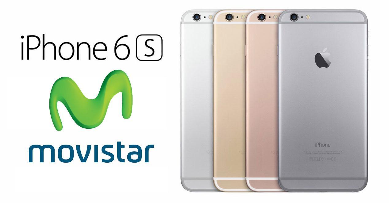 modelos del iPhone 6s con logo movistar