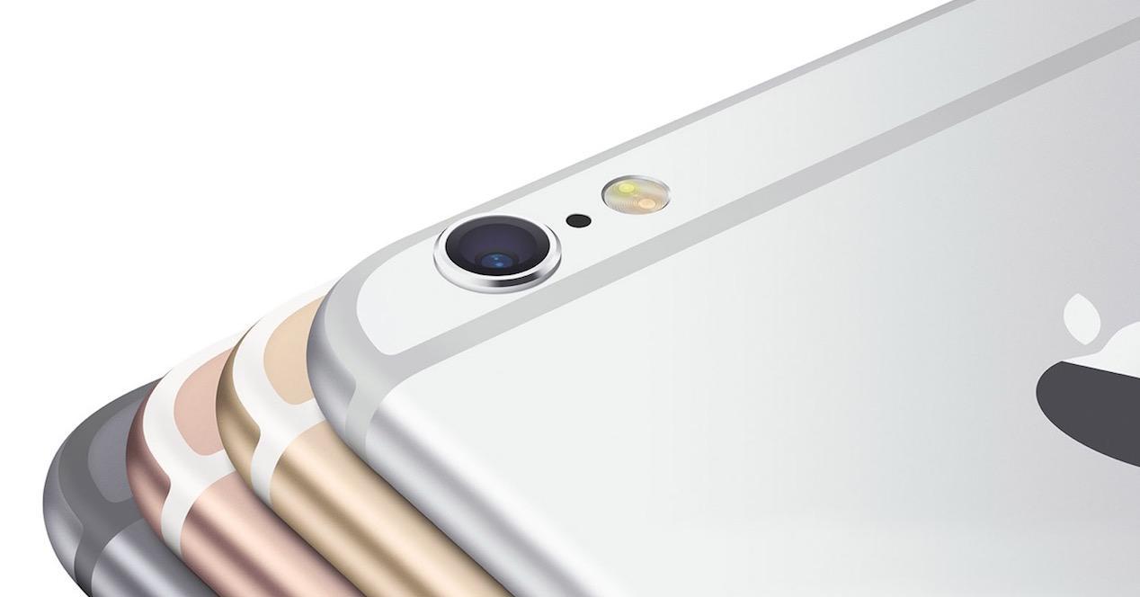 iphone 6s en diferentes colores