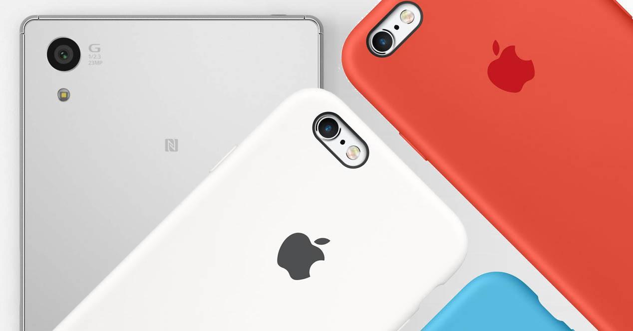 iphone 6s vs xperia z5 camara