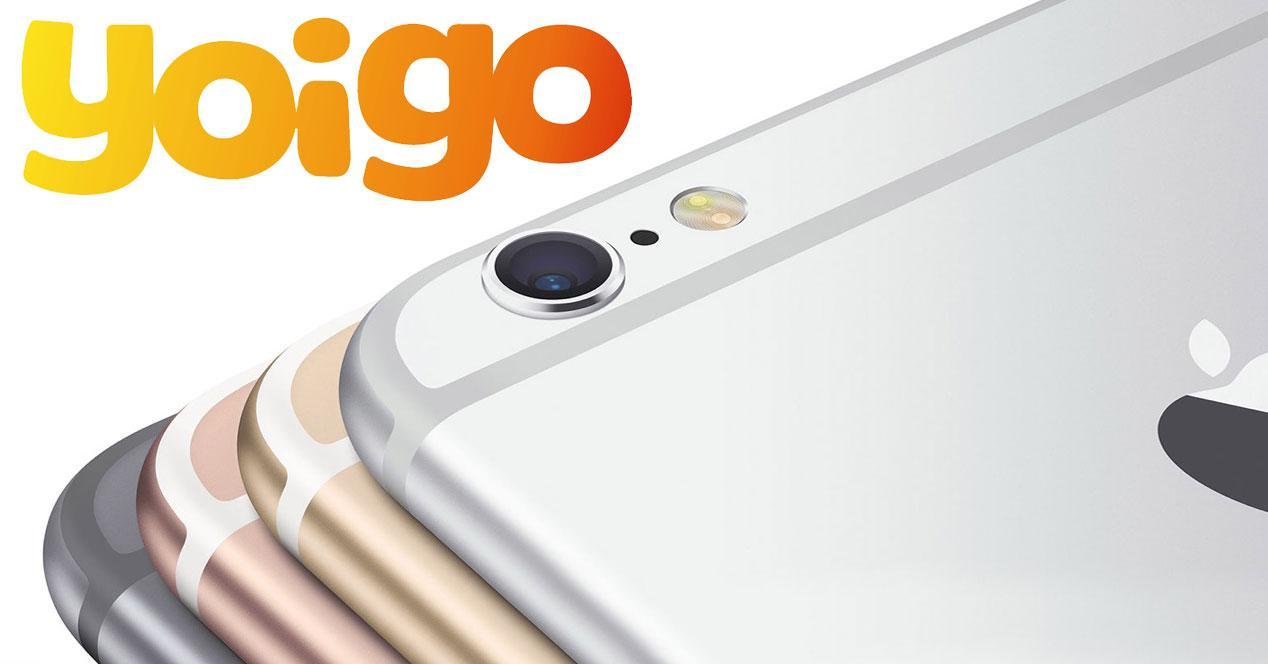 iPhone 6s con logo de yoigo