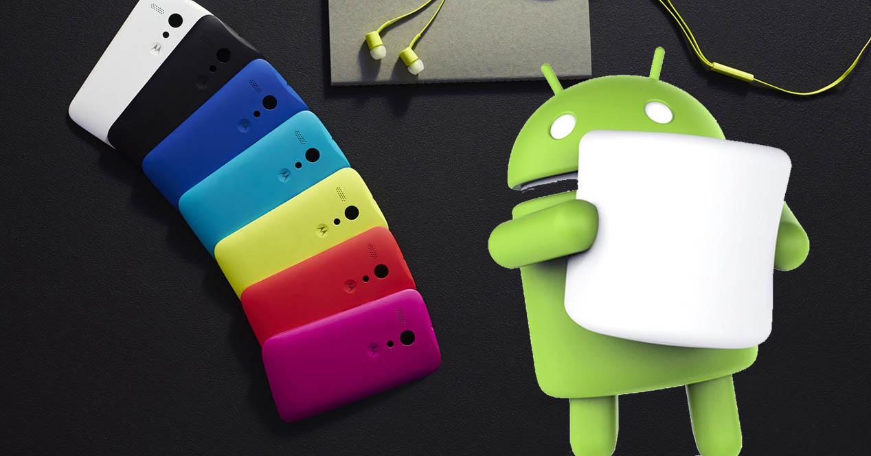 Android 6.0 Marshmallow moto g 2013