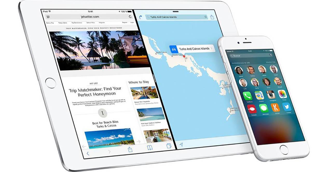 iOS 9 multipantalla portada