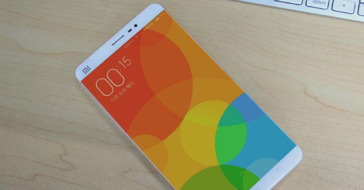 Concepto del Xiaomi Mi5