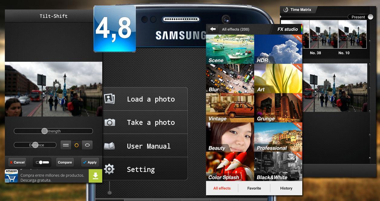 Aplicación PicsPlay Photo Editor