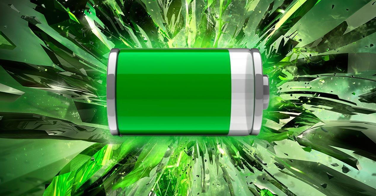 Icono de una bateria