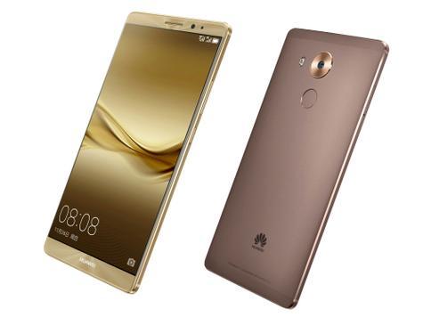 Huawei Mate 8 oro y oro rosa