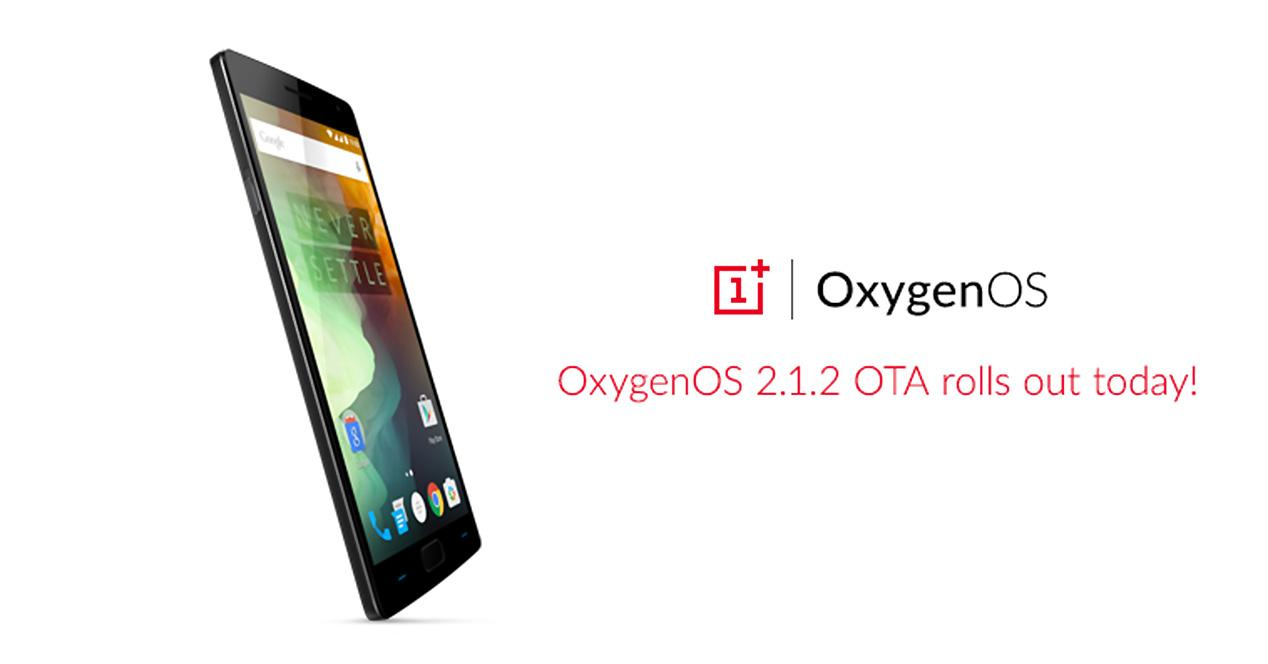 Actualización del OnePlus 2